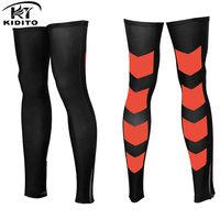 KIDITIKT Cycling Legwarmers Men Women Compression Sport Safety Running Legging Basketball Soccer Leg Warmers Tights Sportswear