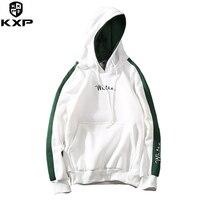 KXP Casual Männlichen Dünnen Jugend College Hoody Herbst Polyester Sportbekleidung Mode Hip Hop Sweatshirt Mit Kapuze Streetwear für Männer