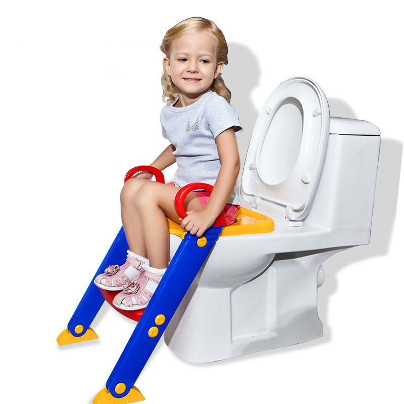 2016 Free Shipping Baby Potty Seat Ladder Children Toilet