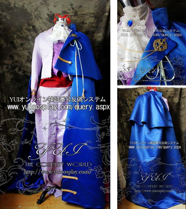 MACROSS Sheryl Nome cosplay costume top+pant+cloak custom any size