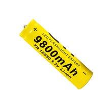 Protegido para Lanterna Venda Quente 3.7 V 18650 Recarregável Li-na Bateria MAX 2.7 Ampères Baterias Led e powerbank e farol e broca
