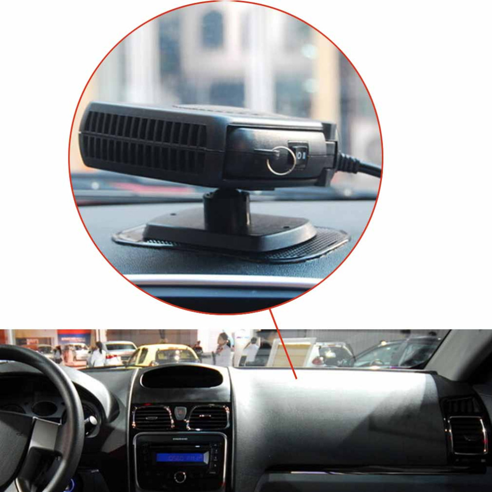 New12V/150W Protable Car Heater Fan 2015 Wholesale High Quality Using Car Styling Heating Fan Car Defroster Environmental Best