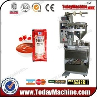 Tomato Ketchup Sachet Pouch 10g Filling Packing Machine