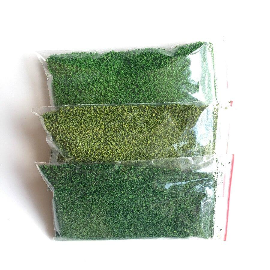 Low Price Discount 30g/bag Artificial Grass Powder  Landscape Decoration Home Garden DIY Accessories Building Model Materials