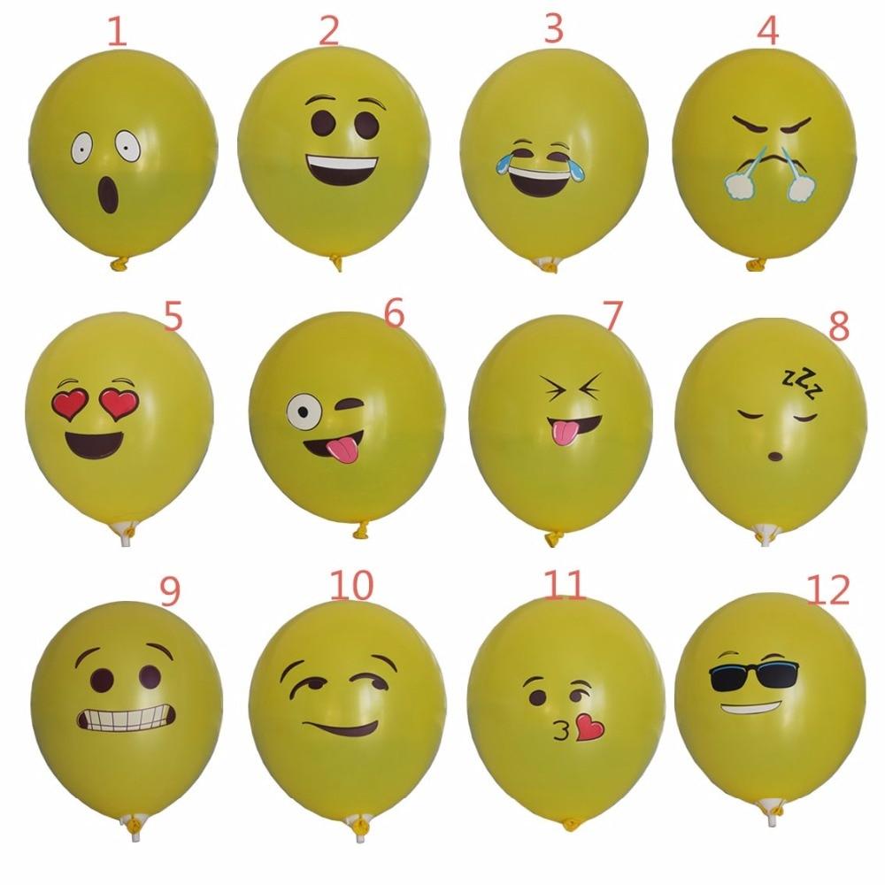 Aliexpress.com : Buy Funny Emoji Balloon 12inch Latex