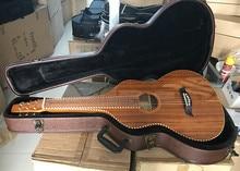 Aiersi Бренд Веревка связывания Гавайский КоА средства ухода за кожей электроакустическая Weissenborn слайд гитары Бесплатная чехол
