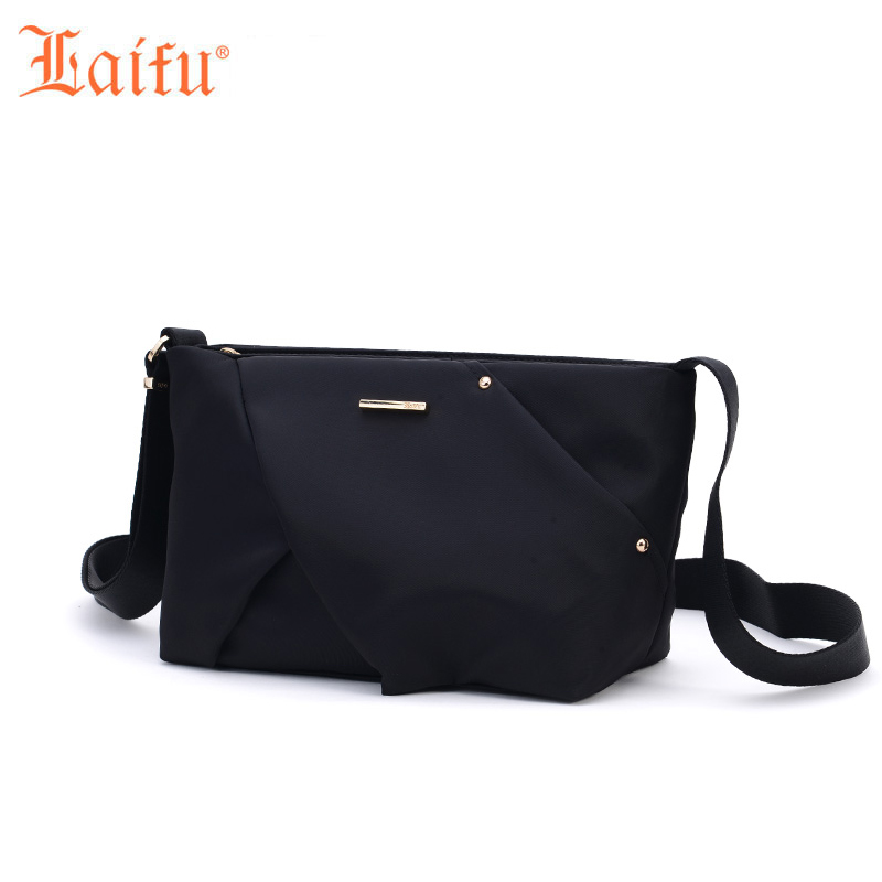 Laifu Women Nylon Messenger Bag High Quality Ladies Handbags Shoulder Bag For Women Casual Crossbody Bags