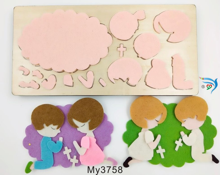 Boys and girls muyu cutting die new wooden mould cutting dies for scrapbooking Thickness 15 8mm