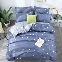 BEST.WENSD 2019 Quality Printing Geometrical Bedding set duvet cover king queen full twin size bedcover single double bed sack