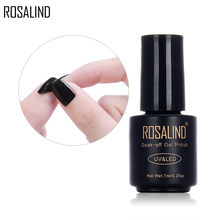 Rosalind 29 Cores 7ml Soak-off Gel Unha Polonês Uv & led Peel Off Unha Polonês Gel Laca Verniz Semi-permanente Diy Nails Art(China)