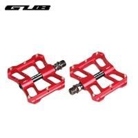 2pcs/lot GUB GC060 bicycle pedals mountain bike Aluminum Alloy ultra light road car pedal bearing chromium molybdenum steel axis