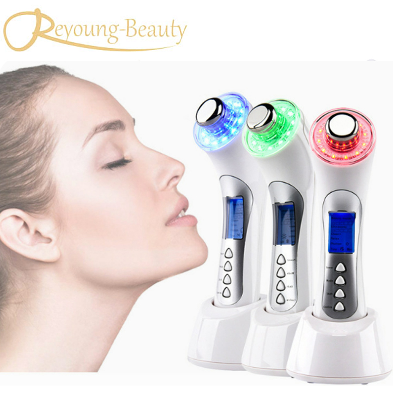 Galvanic Current Spa Ultrasonic Photon IPL Led Skin Rejuvenation Tender Skin Care Vibration Face Eye Beauty Instrument кровать из массива дерева austin furniture 1 8