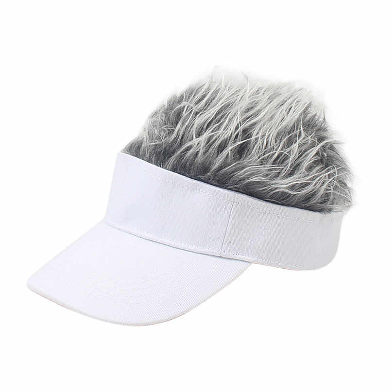 Wig Tennis Cap Parent-child Hat Street Trend Cap Outdoor Shade Wig baseball cap parent-child hat street trend cap #2f20