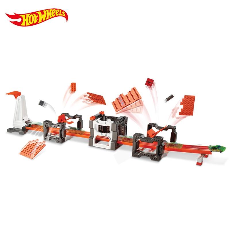 Hotwheels Carros Track Model Cars Train Niños Metal Metal - Vehículos de juguete para niños - foto 5
