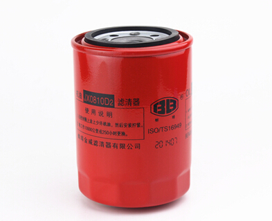 Shanghai New Holland tractor parts, the Oil filte with part number: 51334944