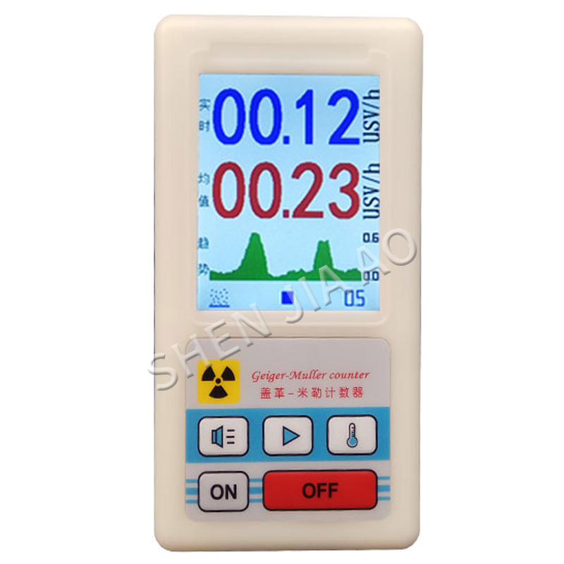 BR-6 Dosimeter Geiger Counter Nuclear Radiation Detector X-ray Beta Gamma Detector Geiger Counter Radioactivity Detector