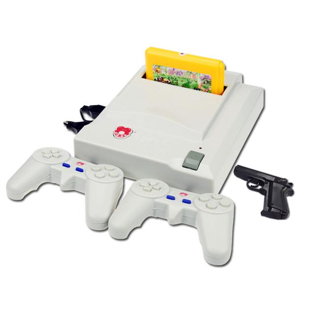 Cdragon TV game D31 yellow card inserted double handle 8 bit game FC retro console video game interactive nostalgic nes