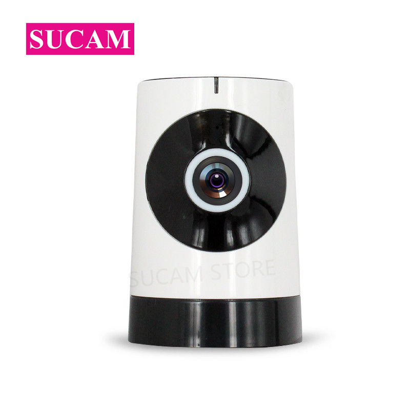 SUCAM Night Vision 720P Mini Camera-Wifi 180 Degree Two Way Audio Home Security Surveillance Baby Monitor Camera IP Wireless