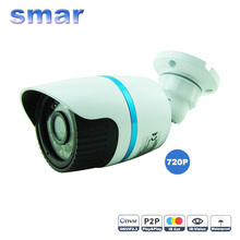 Smar IP Cámara 720 P/960 P 1.0MP HD Cámara CCTV 24 IR Leds Seguridad Impermeable Al Aire Libre/1.3MP Cámara de red Bullet Onvif P2P Nube