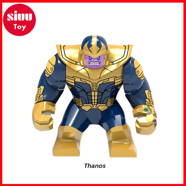 HOT Avengers 3 Infinity War Building Blocks Toys Figures Legoing Marvel Thanos Iron Man Corvus Glaive Capation America Groot  1