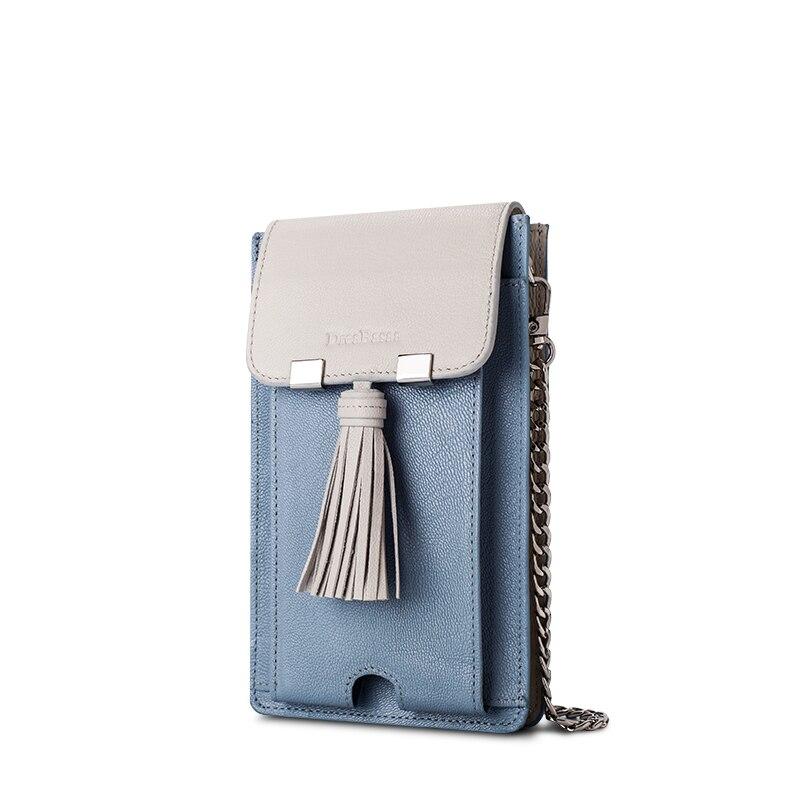de couro genuíno bolso de Ocasião : Versátil