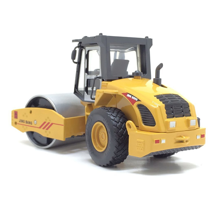 1:60 Alloy Road Roller Model Children's Educational Toys Truck Construction Vehicles Kids Toys High Quality