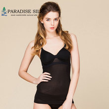 Women's Camisole 100% Silk With Inner Bra Camisole Underwear Top Size M L XL