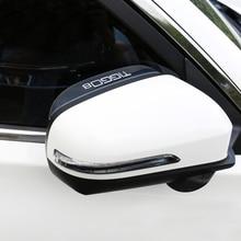 Lsrtw2017 PC Car Rearview Rain Eyebrow Rain Shield for Chery Tiggo 8 2018 2019 2020 цена