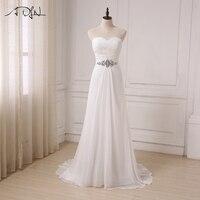 New 2017 Mermaid Wedding Dress Cap Sleeve Lace Applique Sweep Train Bridal Gowns Zipper Back Vestido