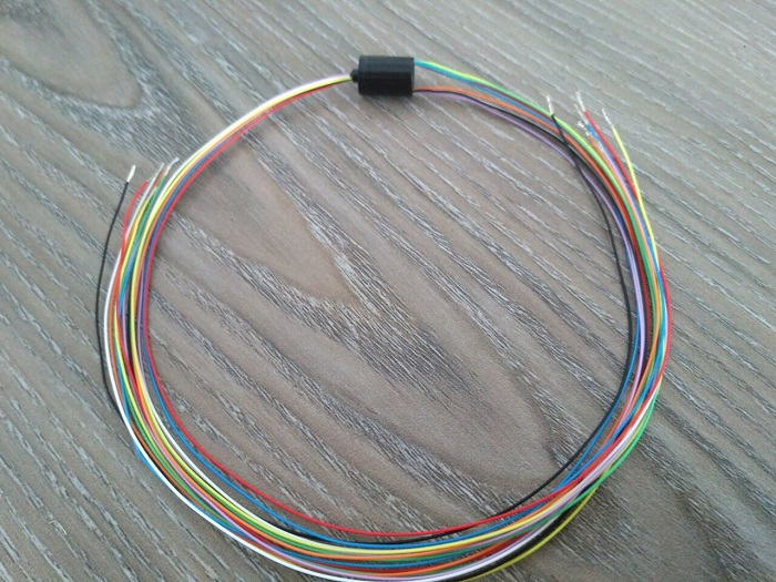 Traveller Slip Ring Conducting Ring Via Slip Ring Model Airplane BRUSHLESS MOTOR Bus Rings 8mm Equipped 8 Core