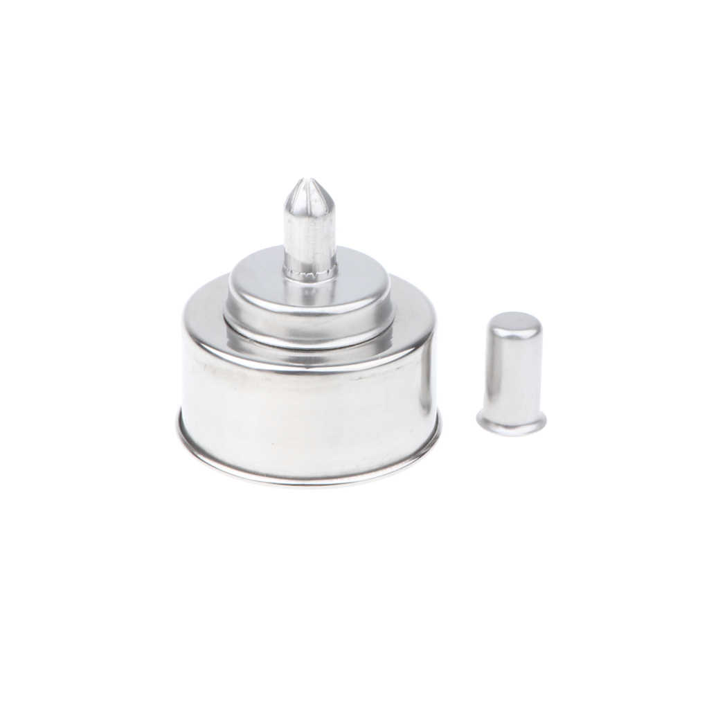 200ml Stainless Steel Alcohol Lamp Alcohol Burner with Wick Chemistry Laboratory Equipment Tool Corrosion Resistant//Leakproof//Anti-Explosion Alcohol Burner
