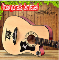 Or Beginners To Practice GUITARIST Girls Boy Folk Guitar 38 Inch Acoustic Guitar Fguitar Musical Instrum