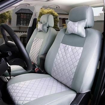 (Front + Rear) Universal car seat covers for Lada 110 111 112 Kalina Niva Vesta XRAY Granta car accessories car styling