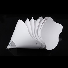 10 шт. светочувствительная Смола фильтр воронка Высокое качество 3D фильтр принтера воронка, Фотополимерная Смола нити фильтр бумага