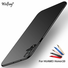 Huawei Honor 20 Case Silm PC Shell Luxury Smooth Hard Phone Bumper For Thin Back Cover Fundas