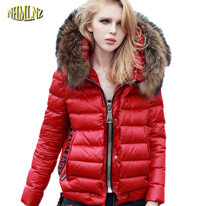 2017 Winter Women Loose Cotton Coat High quality Fashion Fur Collar Long Hooded Female coat Casual Warm Winter Outerwear WK316 стоимость