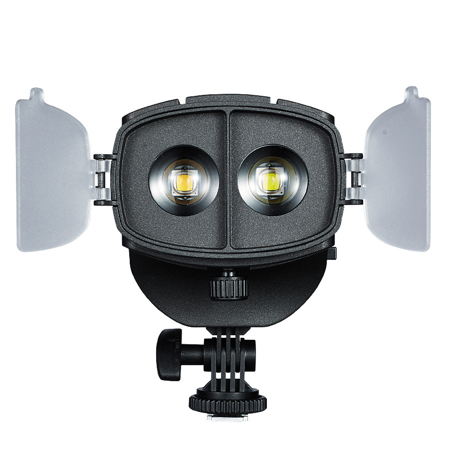 Camera LED Fill-in Light Video Light Spotlight 3200-5600K Adjustable Brightness Focus for Canon Nikon Pentax Olympus DSLR Camera