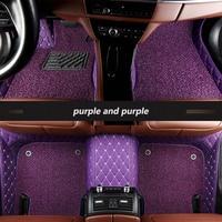 kalaisike Custom car floor mats for Alfa Romeo Giulia Stelvio 2017 car accessories auto styling auto floor mat