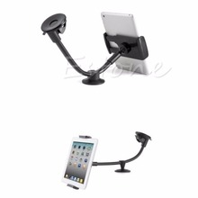 New Arrival Car Windshield Mount Holder Stand cradle For Tablet PC GPS ipad 9-10 inch G6KC car windshield swivel mount holder for the new ipad black
