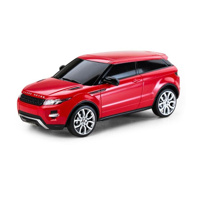 Лицензированный 4ch мини Р/У машинки машин на Радио Управление LED 1:24 Весы Range Rover Evoque Радиоуправляемые игрушки Обувь для мальчиков Подарки 46909