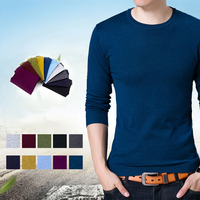 Thin Sweater Men Elasticity Pullover Mens Sweater Casual Cashmere Wool Knitted Long Sleeve Sweaters Male Jumper Tops Pull Homme