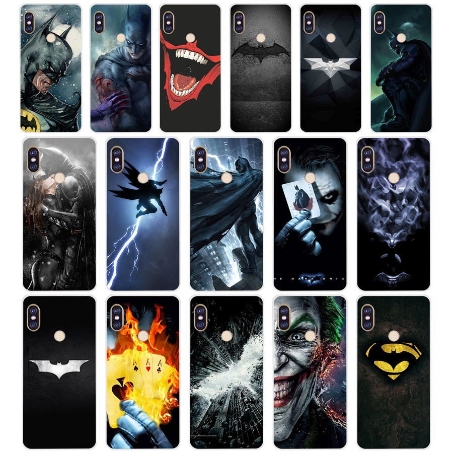 65 ZX hot batman movie TPU Soft Silicone Phone Case for Xiaomi Redmi Note 4 4X 5 7 6 pro plus a2 lite Cover image