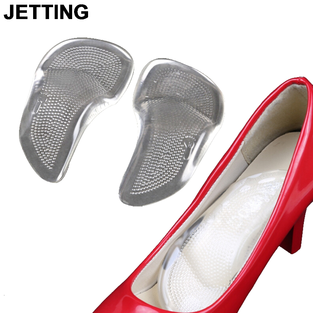 JETTING 1 Pair Unisex Gel Metatarsal Forefoot Arch Support Shoe Inserts Cushion Insoles Pad Drop Shipping bsaid massage inserts silicone insoles orthotic arch support shoe pad 1 pair rebalance cushion insoles for shoes inserts unisex