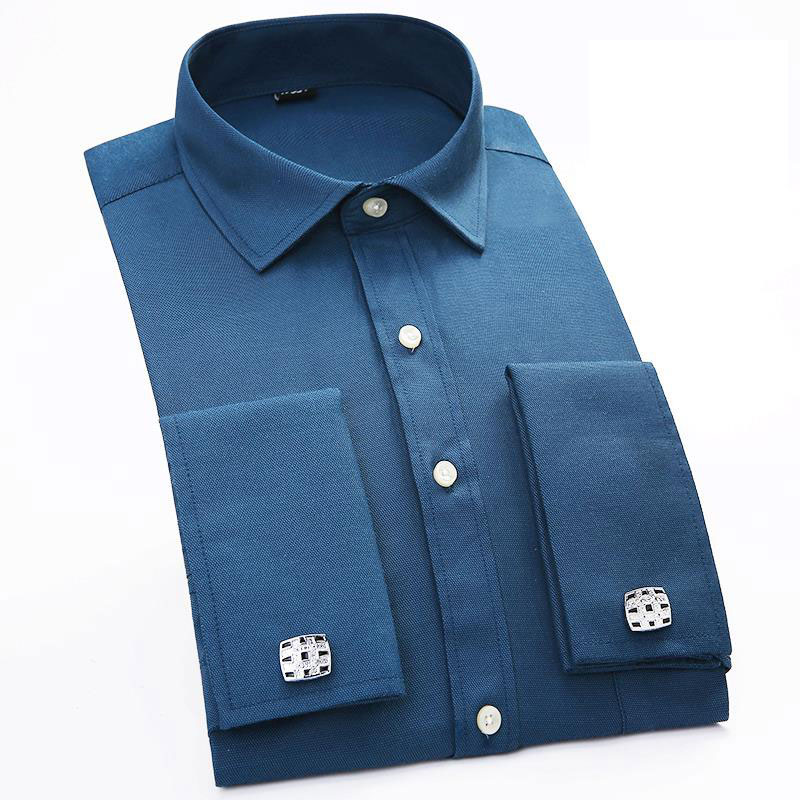 2017 spring new formal men dress shirts with french for Mens shirts with cufflinks