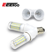 EeeToo Lamp Holder Bulb Bases Converter Socket E27 for LED Light Adapter E14 to E27 E14 to B22 Fireproof Material Lamp Base G9(China)