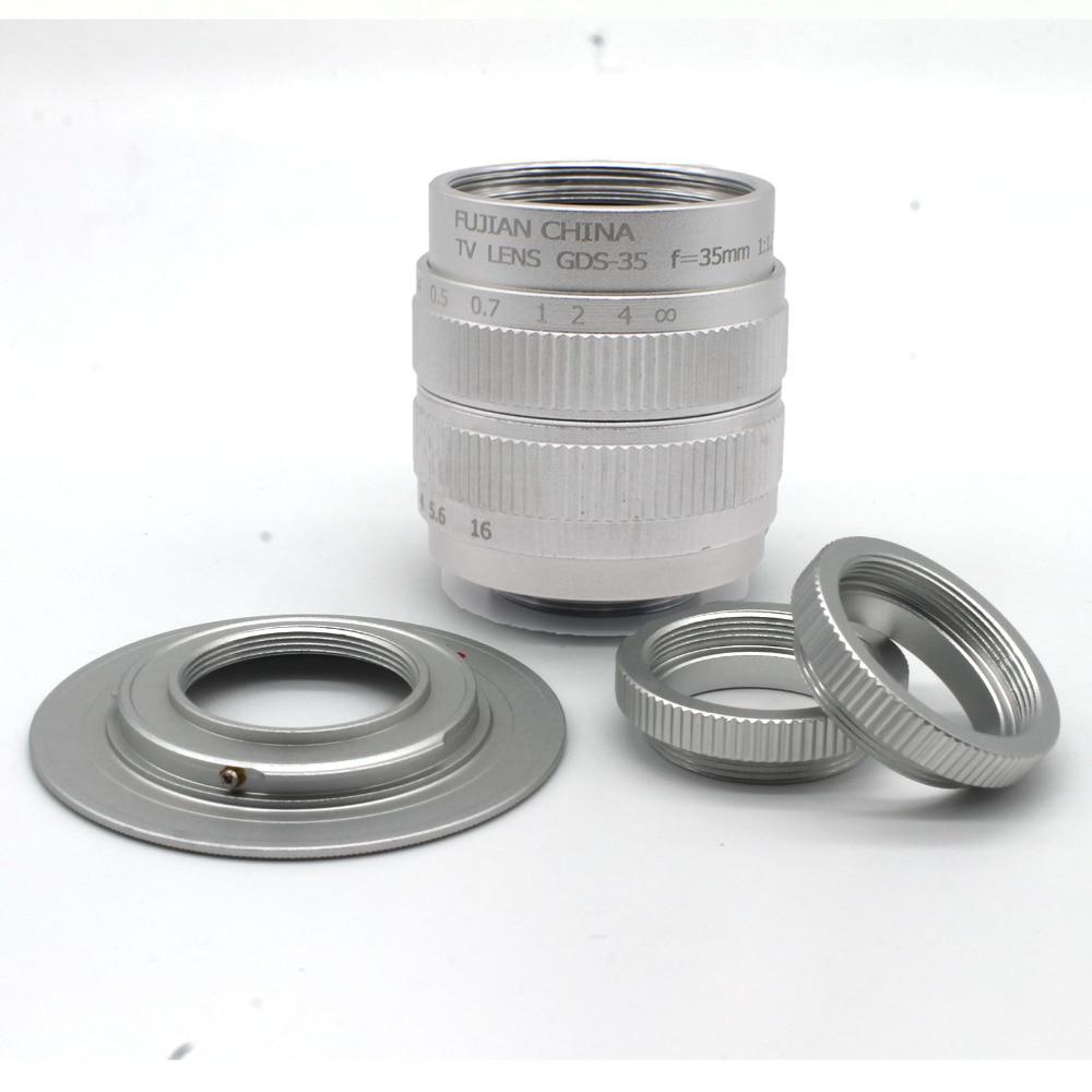 CCTV 35mm f1.7 Lens C Mount + C-NEX +Macro ring For Sony NEX-5 NEX-3 NEX-7 NEX-5C NEX-C3 NEX-5N F3 B Free shipping