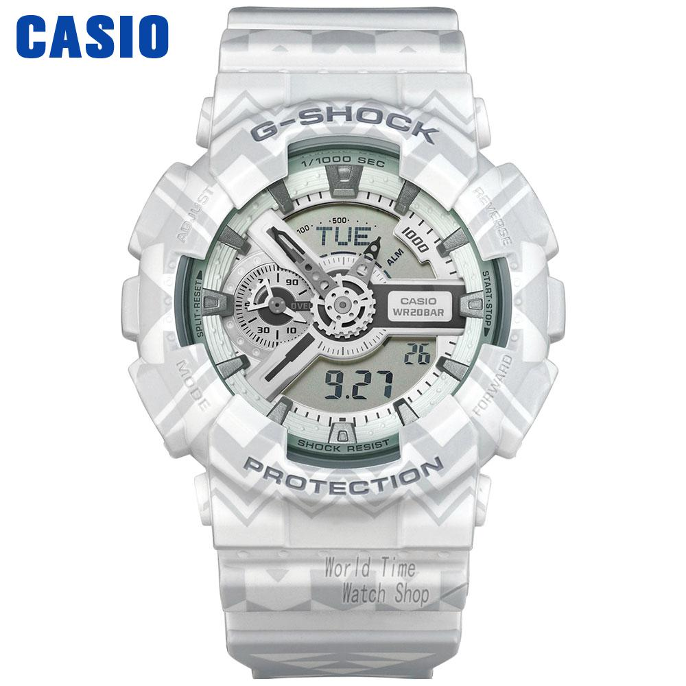 Casio watch Waterproof shockproof anti - magnetic movement male watch electronic form GA-110TP-7A GA-110WG-7A casio sheen multi hand shn 3013d 7a