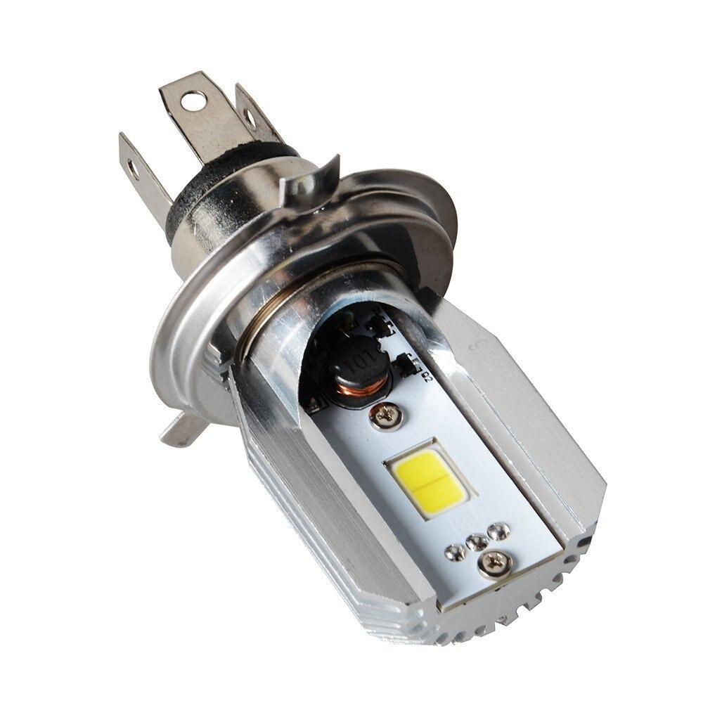 2Pcs DC/AC 6-80V 12W H/L LED Motorcycle Headlamp COB H4 Bulb Motorbike Headlight мультиметр uyigao ac dc ua18