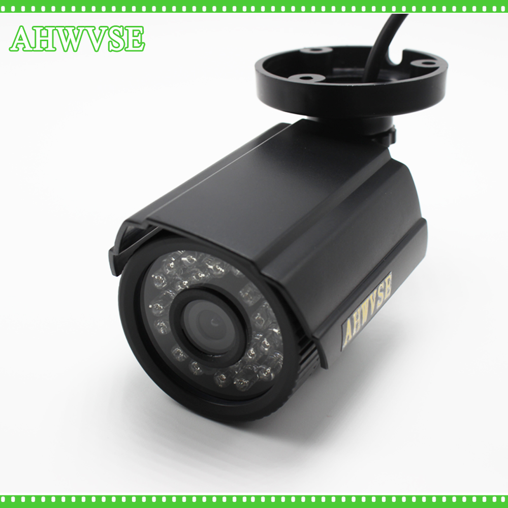 High Resolution AHD Camera HD 1080P 4MP 5MP Surveillance Outdoor Indoor infrared Security Camera System With Bracket