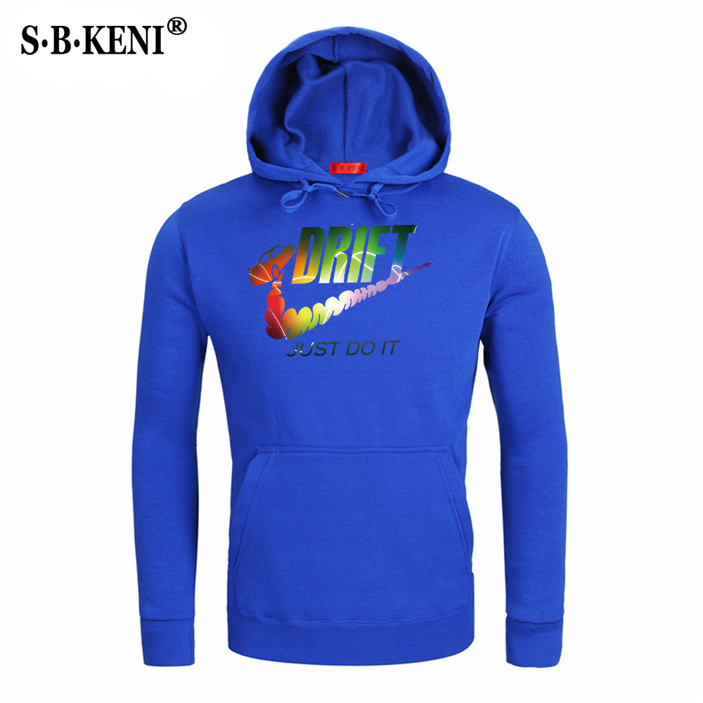 New JUST DO IT Men Hoodies Sweatshirts Cotton Groot Long Sleeve Hoodie Lightning print Mens Casual Brand Clothing Hoody 13